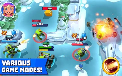 Tanks A Lot! - Realtime Multiplayer Battle Arena APK screenshot thumbnail 14