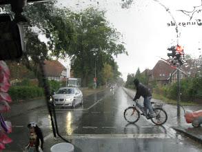 Photo: So war das Wetter am Morgen der Abholung...
