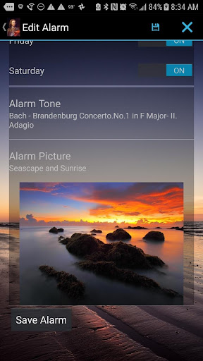 Mozart Alarm Clock screenshots 3