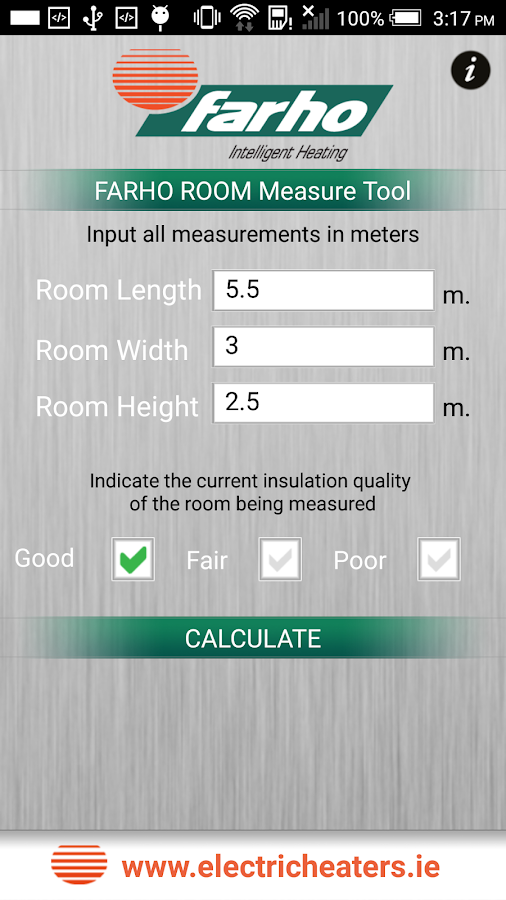 FARHO Room MeasureTool- screenshot