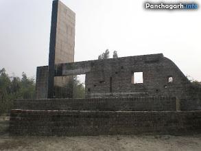 Photo: Monument near Tetulia