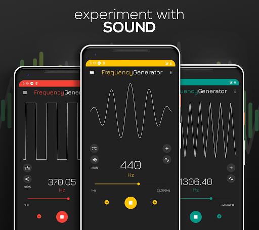 Frequency Sound Generator screenshot 1