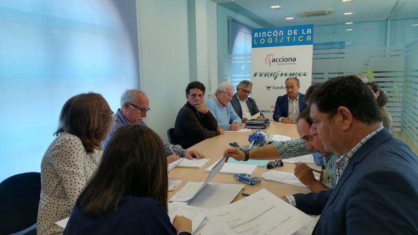 Apertura de proposiciones en la sede de la Fundación Bahía Almeriport