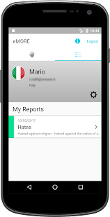 eMORE Monitoring and Reporting- screenshot thumbnail