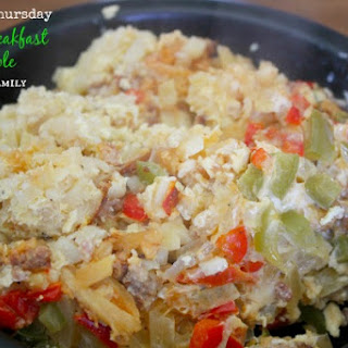 Crock Pot Sausage Breakfast Casserole