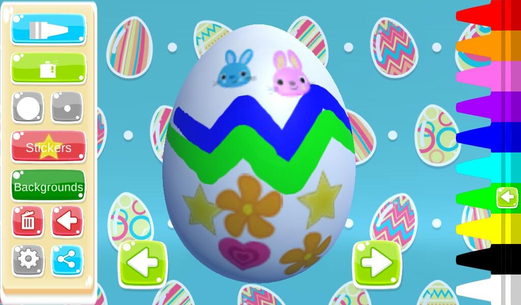 Easter Egg 3D Greetings Paint- screenshot
