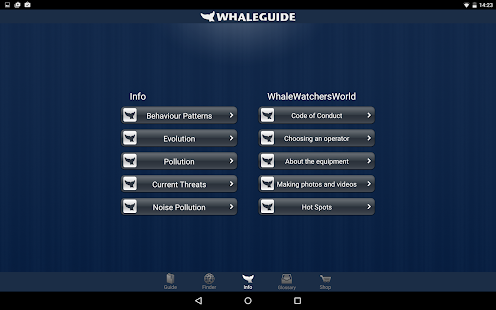 WhaleGuide- screenshot thumbnail