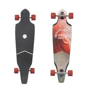 Globe Cutler - Crimson Chill (92 cm) Longboard