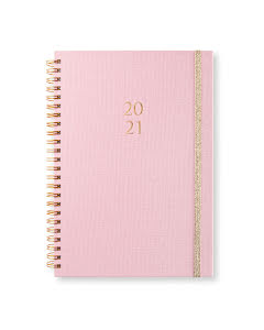 Kalender 2020-21 Newport vecka/notes Golden Tea Rose
