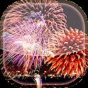 Christmas Fireworks LWP icon