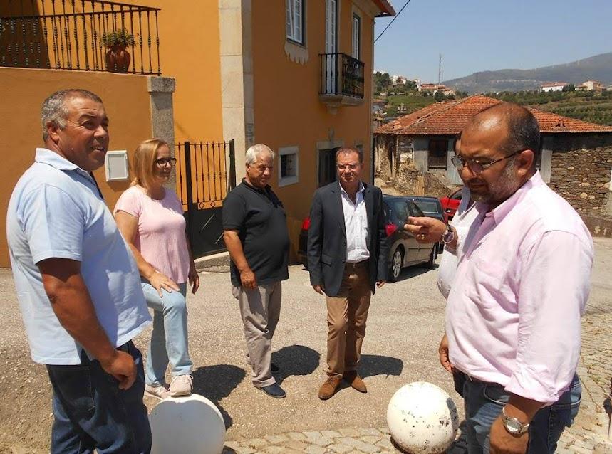 Ângelo Moura define prioridades de investimento em visita às freguesias