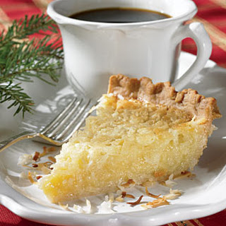 Butter Coconut Pie