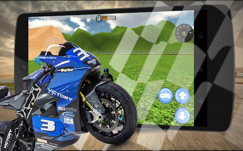 Extreme 3D MotorBike Racer Sim - náhled