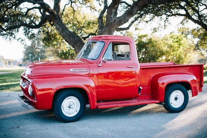 RED 1954 Ford F100!!  Great Vehicle For Any Occasion or Promotion Hire TX 78610