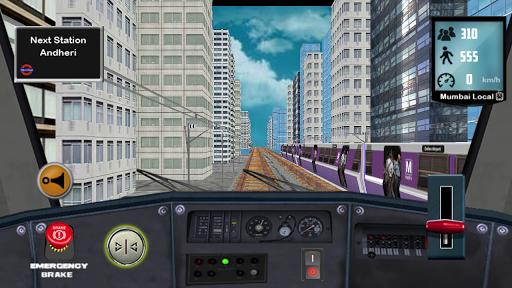 Train Driving Mumbai Local 1.5 screenshots 6