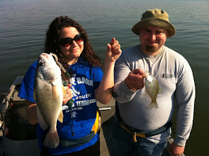 "Photo: March 18, 2012 - Kayla Winn and Richard Boehms with an interesting ""double"" they captured."