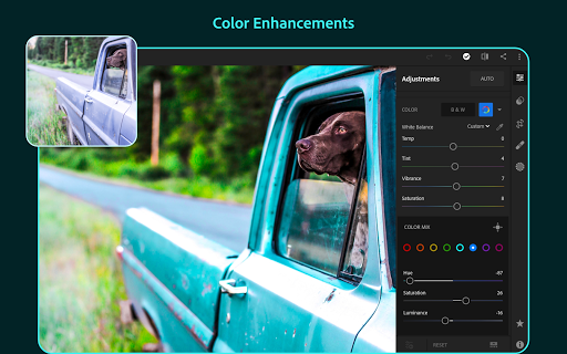 Adobe Lightroom - Photo Editor & Pro Camera 5.1 screenshots 11