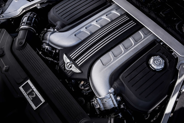 The traditional 6.0l W12 engine. Picture: BENTLEY MOTORS