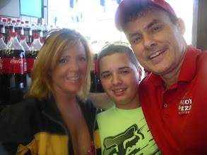 Photo: My old neighbor and friend Stacey kelly and her son visited!