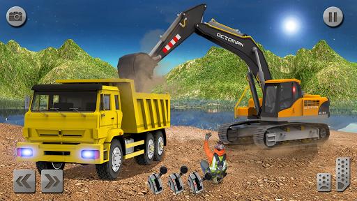 Sand Excavator Truck Driving Rescue Simulator game 5.0 screenshots 7