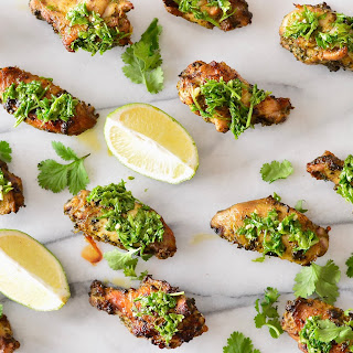 Chili Lime Chicken Wings.