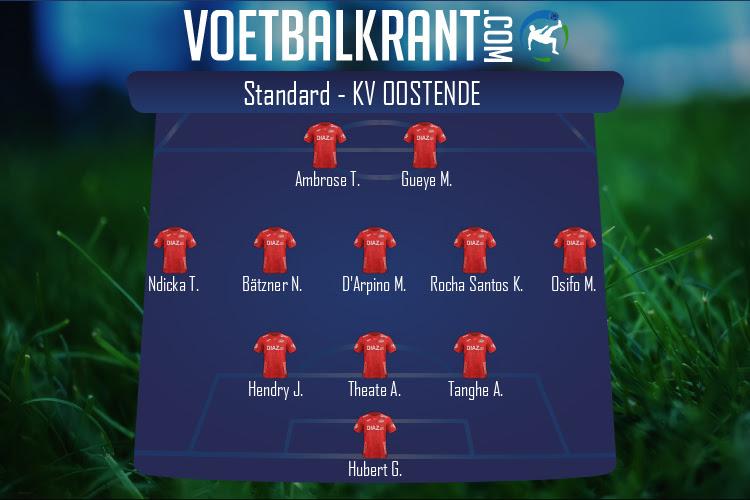 KV Oostende (Standard - KV Oostende)