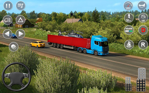 Indian Truck Offroad Cargo Drive Simulator apktram screenshots 17