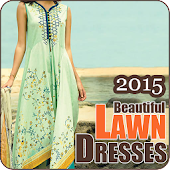 Beautiful Lawn Dresses 2015