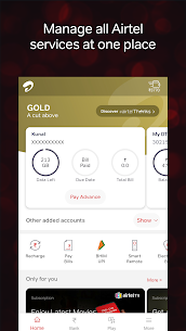 Airtel Thanks – Recharge, Bill Pay, Bank, Live TV App Latest Version Download For Android and iPhone 6
