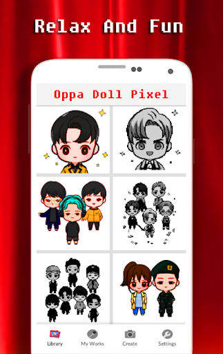 Download Coloring Oppa Doll By Number Pixel Art Free For Android Coloring Oppa Doll By Number Pixel Art Apk Download Steprimo Com