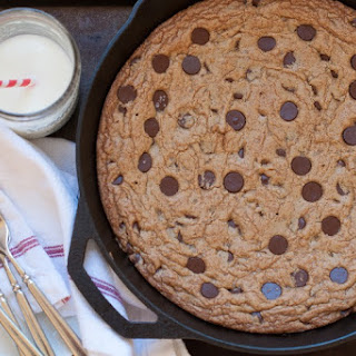 The Best Chocolate Chip Skillet Cookie
