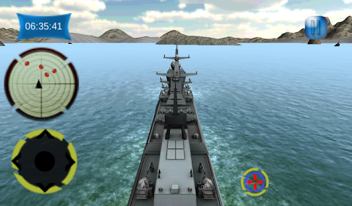 Navy Gunship Sea Action