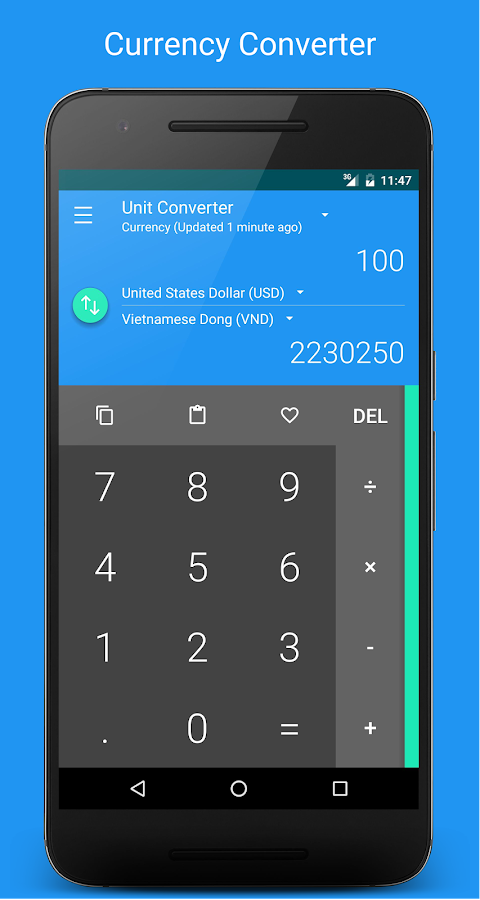 Unit & Currency Converter Pro★- screenshot
