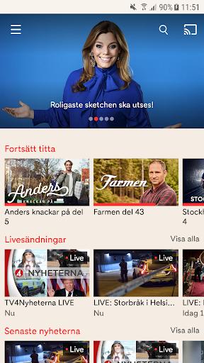 TV4 Play 3.32.3 screenshots 1