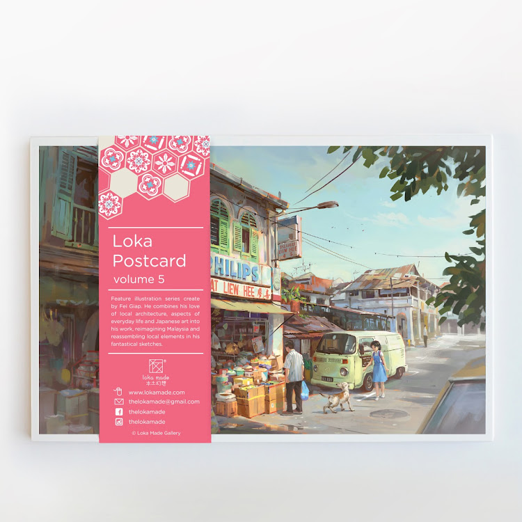 <loka made :Postcard Vol.5> by Loka Made