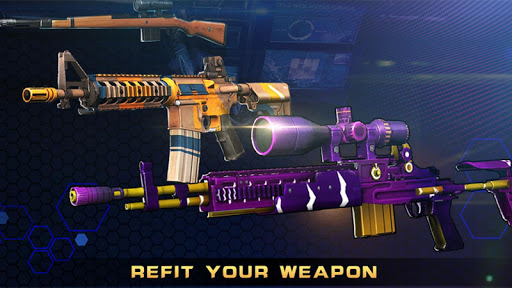 Sniper Killer 3D:  Assault Shooter 1.0.4.2 Mod screenshots 4