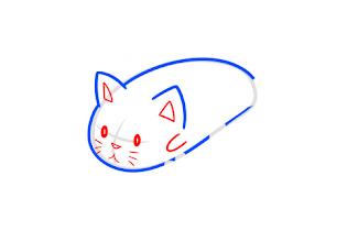How to draw Sushi Cat - screenshot thumbnail 02