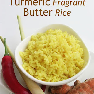Turmeric Fragrant Butter Rice