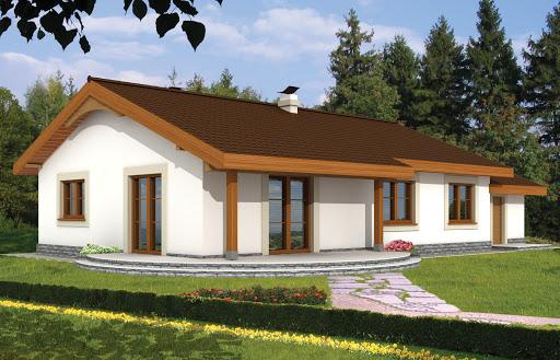 projekt Anulka z garażem
