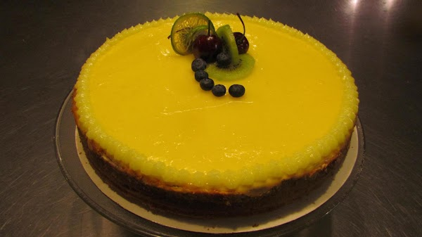 If you don't want it as tart add less juice and zest. This can also...