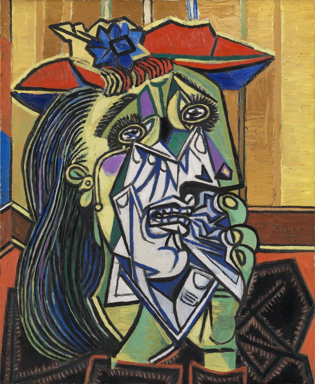 Pablo Picasso (1881-1973) - Femme en pleurs (Weeping Woman), 1937