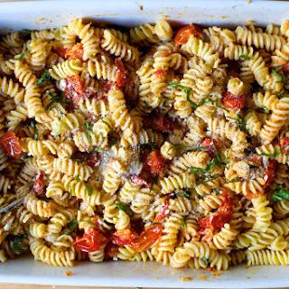 Fusilli with Baked Tomato Sauce Recipe