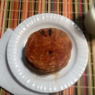 PB+Chocolate Pancakes (Semi-healthy)