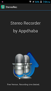 Stereo Audio Recorder 4.4 (MOD + APK) Download 1