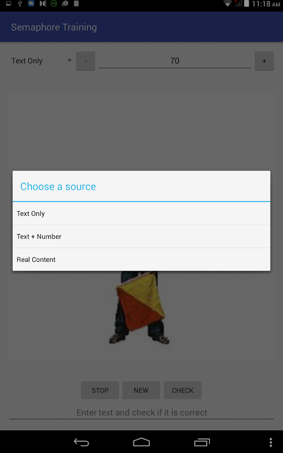 Semaphore Training- screenshot
