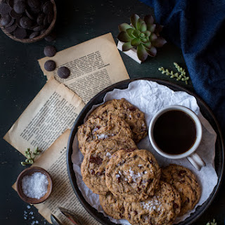 Really Good Chocolate Chip Cookies with Sea Salt.
