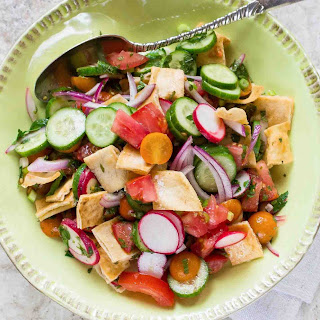 Fattoush Bread Salad Recipe