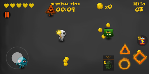 Geometry Apocalypse: Circle, Square Zombie shooter 0.1 screenshots 2