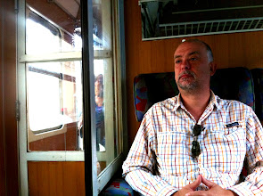 Photo: Train ride from Zagreb, Croatia to Sarajevo.  10 hrs and counting!