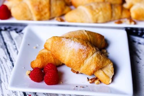 Raspberry Honey Walnut Crescent Rolls